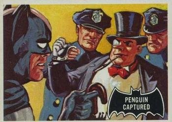 1966 Topps Batman Black Bat (Non-Sports) card#24 Penguin captured of the Grade very good/excellent from Topps