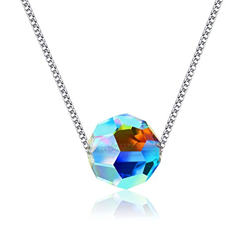 Swarovski Elements Crystals Necklace Sterling