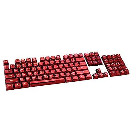 Sairis 104 Keys PBT Double Shot Keycaps Injection Backlit Color Keycaps para Todos los teclados mecánicos