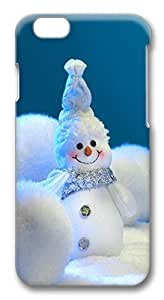 iPhone 6 Cases, Snow Man Christmas Decoration Protective Snap-on Hard Case Back Cover Protector Slim Rugged Shell Case For iPhone 6 (4.7 inch) by lolosakes