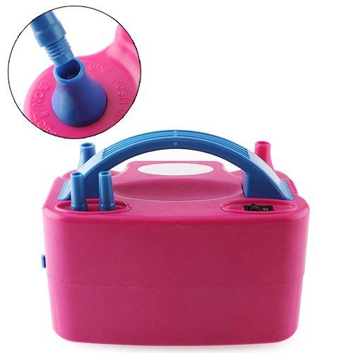 MVpower Inflador de globo W Electrórica Bomba Electrónica de Globo Aire Color