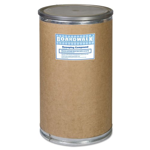 BWK9300 - Oil-based Sweeping Compound, Grit, 300lbs, Drum by Boardwalk
