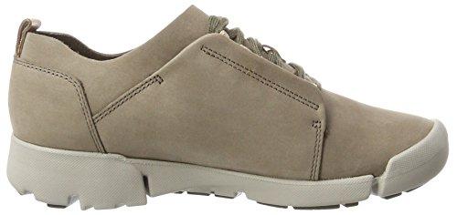 Tri 35 5 Clarks Femme Sneakers EU Basses Gris Bella ACFSqH