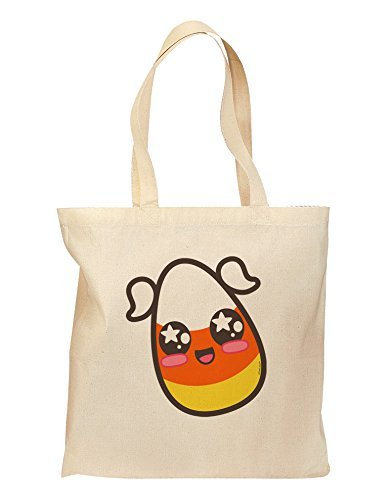 Cute Girl Child Candy Corn Family Halloween Grocery Tote Bag - (Halloween Word Search Simple)