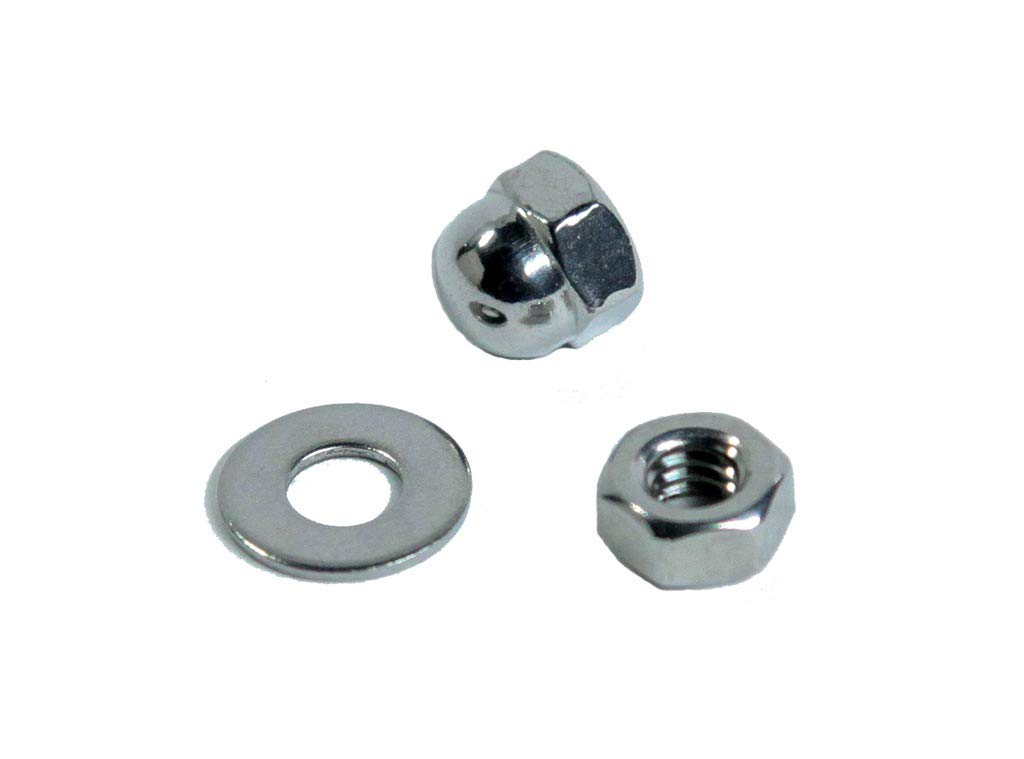 """Lot of 1 3-3//4/"""" Long, for Wood Or Metal Posts VistaView CableTec Stainless Steel DIY Hand-Crimp Threaded Tensioner Ends for 1//8 Cable Railing"""