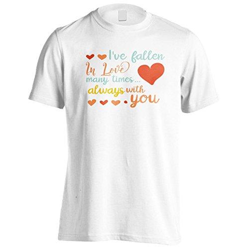 Ive Verliebt Viele Male Herren T-Shirt k906m