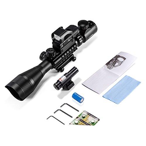 Thmeth Rifle Scopes Dual Ill Optical Reticle Scope with