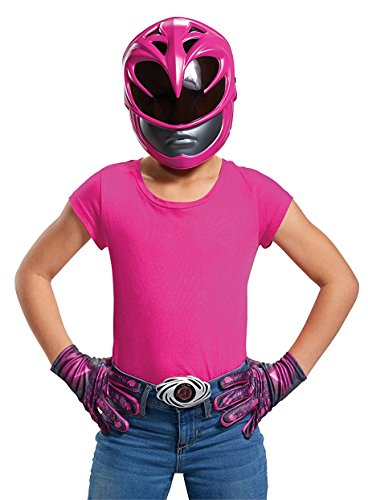 Red Ranger 2017 Child Access Costume (Power Ranger Helmet Kit)