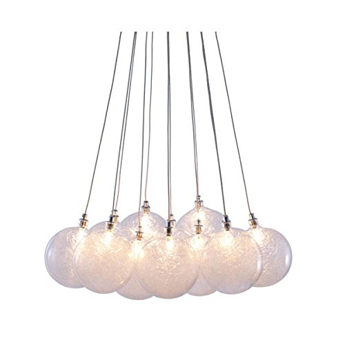 Zuo Cosmos Ceiling Lamp, 40″ x 18″ x 6″, Clear Review