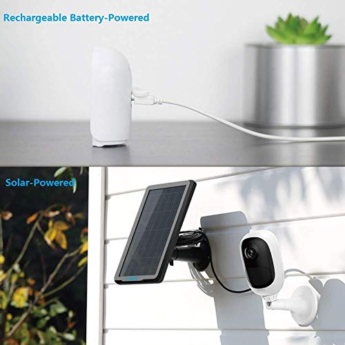 Reolink Argus Pro (Pack of 2) Rechargeable Battery Solar-Powered Outdoor Wireless Security Camera, 1080p HD Night Vision, 2-Way Audio, Alarm Alert and PIR Motion Sensor, Built-in SD Socket and Cloud by REOLINK (Image #1)