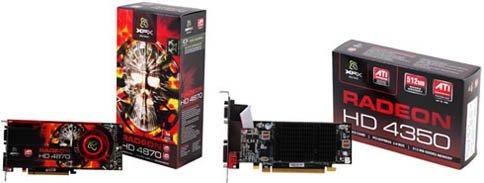 XFX TECHNOLOGIES HD 487A ZDDC XFX?ú?ATI Radeon?é½?a??aë?üîµùѵ£¼??è?Ö???î?ü??üÜ?ü»HD 4870??aHD 4350