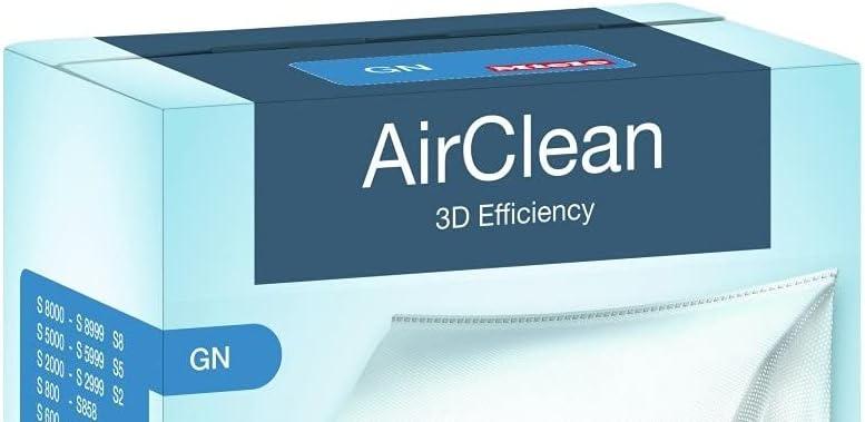 fresh filtres 5 x type gn 3D hoover sacs pour miele S2000 S2 series aspirateur