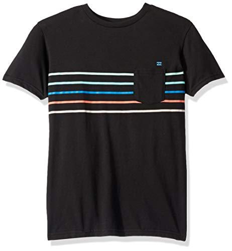 Billabong Boys' Spinner T-Shirt Black Medium