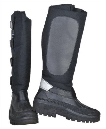 Hkm Thermo Mucker Riding Boots - Black, Size UK 6/EU 39