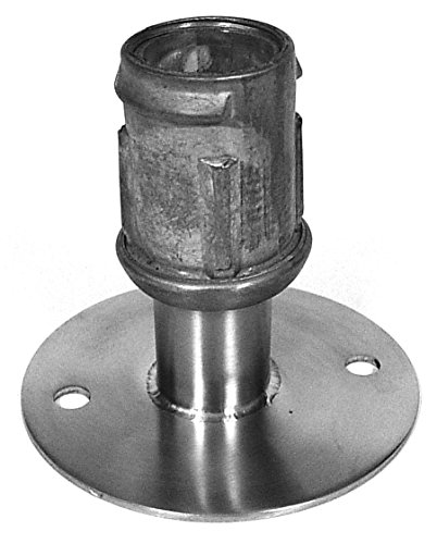 - Set of 4 Adjustable Stainless Steel Flanged Foot w/ 3-1/2