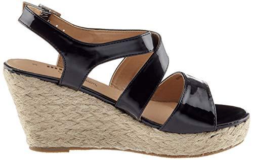 Plateforme Negro C8016 Lucia Patent MTNG Noir Sandales Noir Femme zwHE0Hq