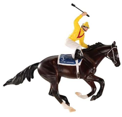 - Breyer Rachel Alexandra Holiday Racehorse Ornament