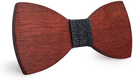Keliour-tie Corbatas de Lazo para Hombre Negocio Minimalista ...
