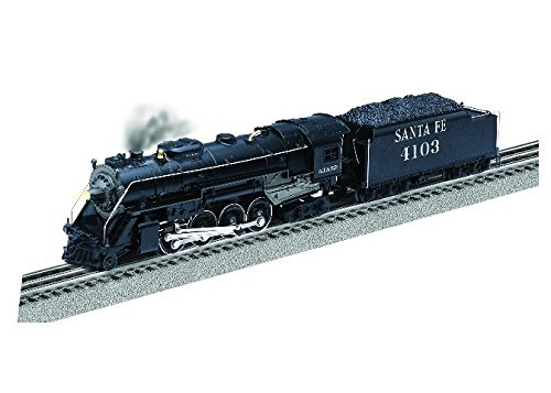 LIONEL LIONCHIEF+ SANTA FE BERKSHIRE #4103 w/BLUETOOTH for sale  Delivered anywhere in USA