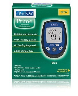 ReliOn Prime Blood Glucose Monitoring System