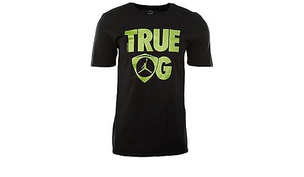 35fb06c780b59e Amazon.com  Air Jordan 14 Retro True OG T-Shirt  Sports   Outdoors
