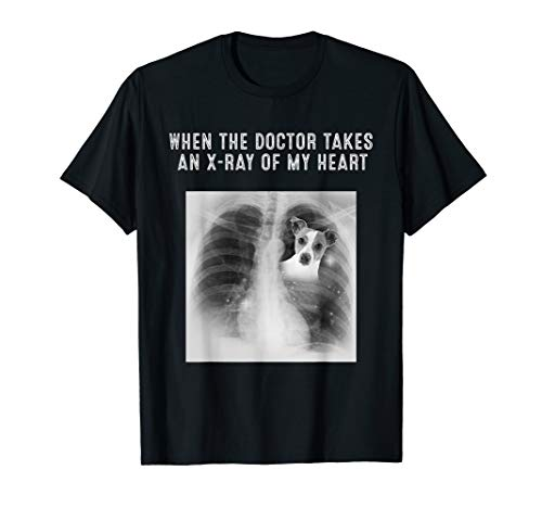 X-Ray Of My Heart Jack Russell Terrier Dog Gifts T-Shirt