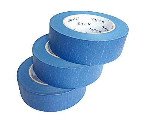 (Blue Painters Tape Professional Grade 3 Pack (2 Inch) 1.88