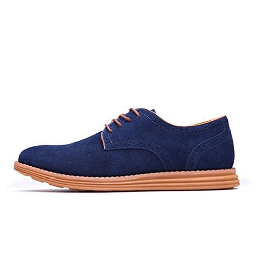 XIGUAFR Chaussure Basse de Ville Pour Homme au Printemps Chaussure de Travail au Loisir Bleu xfhBgw