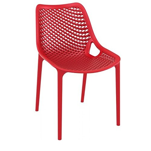 Air Dining Chair (Set of 2) - Red
