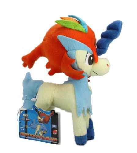Takaratomy Pokemon Best Wishes Plush Doll - Keldeo