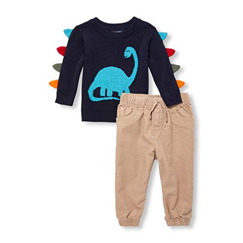 The Children's Place Baby Boys Sweater Set, Tidal, 6-9MONTHS - Sweater Baby Set