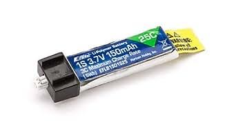 E-flite 150mAh 1S 3.7V 25C LiPo Battery