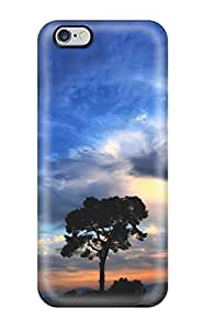 Awesome Beautiful Sky Flip Case With Fashion Design For Iphone 6 Plus