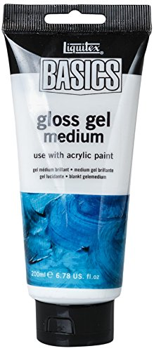 Liquitex BASICS Gloss Gel Medium, 6.78-oz Tube