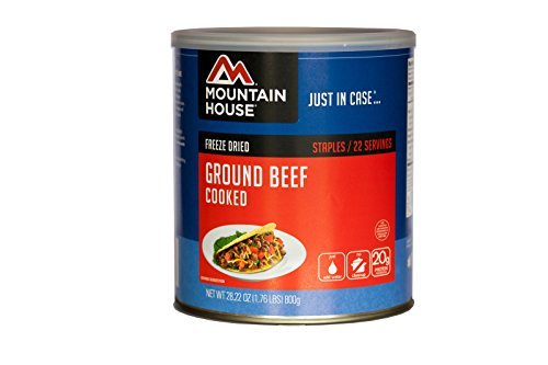 Mountain House Ground Beef, Cooked #10 Can 30235-Parent