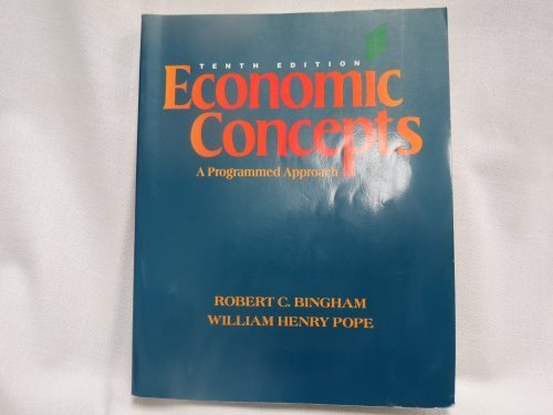 Economic Concepts: A Programmed Approach