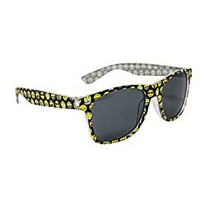 Emoji Sunglasses For Kids: (1) Pair of Children Sunglasses - Frame Designed With Popular Emoji Faces - Lifetime Replacement - Great For Pool Parties, The Beach, & Party Favors - M & M Products Online