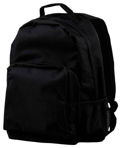 Bagedge Big Accessories (Big Accessories / BAGedge Zipper Closure Commuter Backpack, Black, One Size)