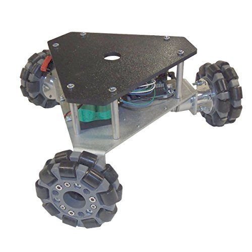 SuperDroid Robots Triangular Omni Wheel Vectoring Robot Platform - IG32 DM by SuperDroid Robots