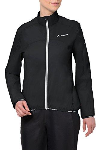 VAUDE Women's Air II Jacket, Black, 40