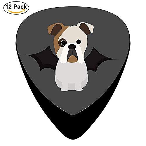 Bulldog Halloween Celluloid Guitar Picks Unique Music Gifts