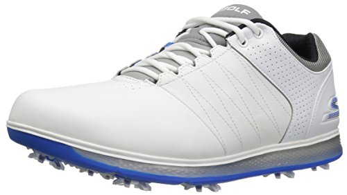 (Skechers Performance Men's Go Golf Pro 2 Golf Shoe,White/Gray/Blue,11 M US)