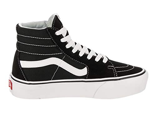 White Trainers Authentic Women��s 0 2 Black Platform True Vans T1FqZxPx