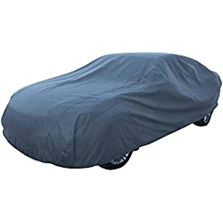 """Leader Accessories Mid Grade Car Cover 100% Dustproof UV Ray Resistant Outdoor Full Car Cover Length Up To 228"""""""
