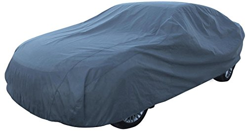 Leader Accessories Car Cover UV Protection Basic Guard 3 Layer Breathable Dust Proof Universal Fit Full Car Cover Up To 200'' (Best Car Cover For Indoor Storage)