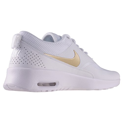 Nike AJ2010-100, Sandales Compensées Femme