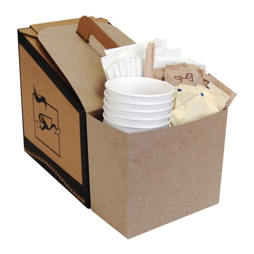 LBP 7139 Coffee Take Out Container Service Caddy for 96 oz. Take Out Containers - Containers 96 Oz