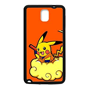 Pikachu Pokemon Pocket Monster Black samsung Galaxy Note3 case