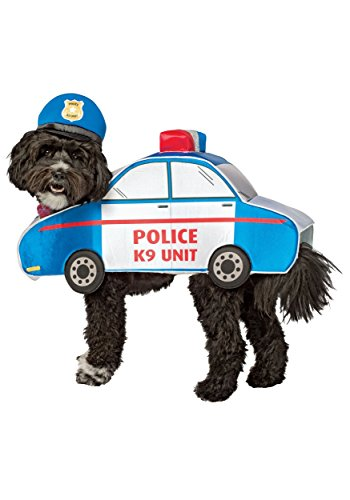Car Costume For Dog (K-9 Police Car Dog Costume X-Small)