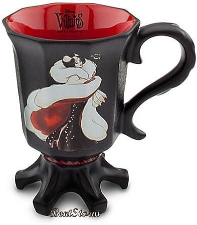 Disney Cruella De Vil Maleficent Feeling Weeked Mug Novelty Cup Villains Ursulla